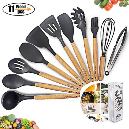 12. Silicone Cooking Utensils