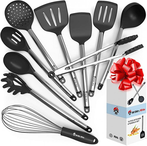 13. Cooking Silicone Utensils Set