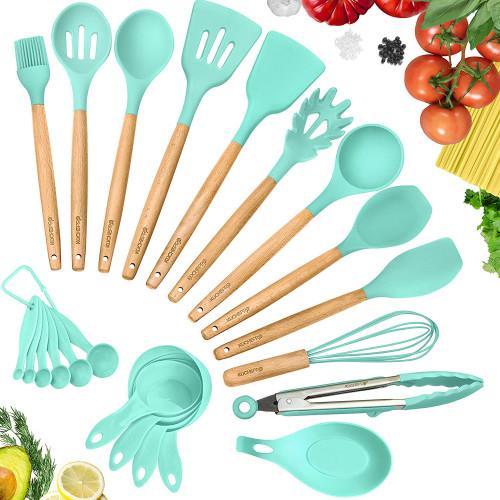 15. KuchePro Silicone Kitchen Utensils Set