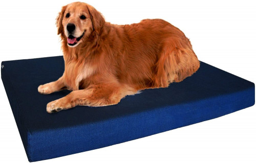 10. Dogbed4less Premium Memory Foam Dog Bed