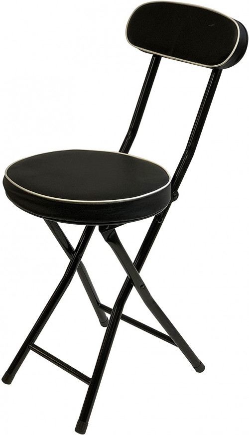 15. Wee's Beyond Cushioned Folding Stool