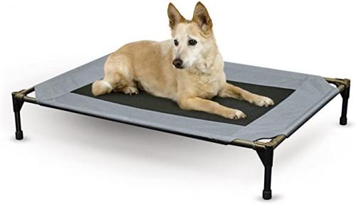 2. K&H Pet Products Original Pet Cot Elevated Pet Bed