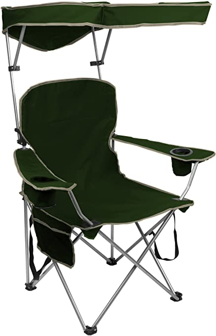6. Quik Shade Adjustable Canopy Folding Chair