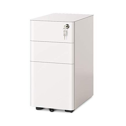 DEVAISE Lockable 3 Drawer File Cabinets