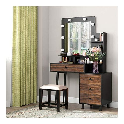 Tribesigns Dresser with Mirror